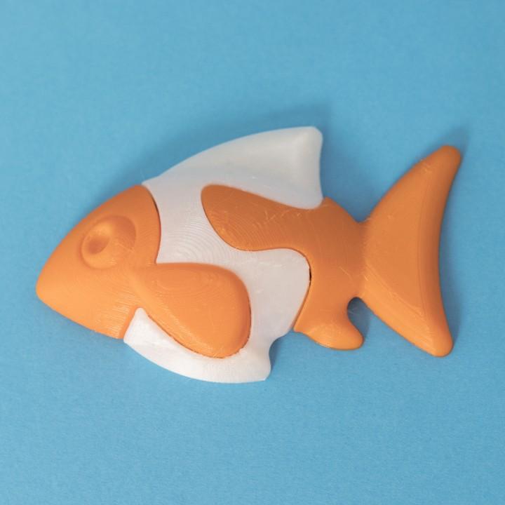 Kid's Jigsaw // Clown Fish