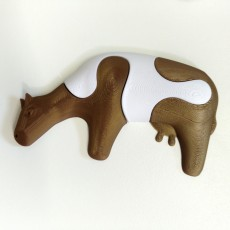 Picture of print of Kid's Jigsaw // Cow