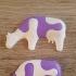 Kid's Jigsaw // Cow print image