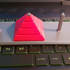 Picture of print of Build the Pyramids // Towers of Hanoi Puzzle