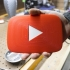 YouTube Play Button Pegboard Logo image