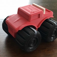 Picture of print of Mini Rumble Truck