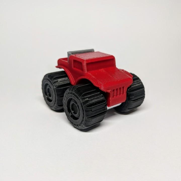 Mini Rumble Truck