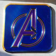 Picture of print of Avengers Logo Coaster