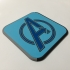 Avengers Logo Coaster image