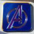 Avengers Logo Coaster print image