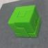 3x3 Puzzle Cube print image