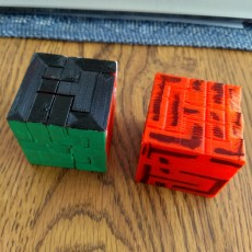 Picture of print of 5x5 Puzzle Cube