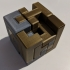 5x5 Puzzle Cube print image