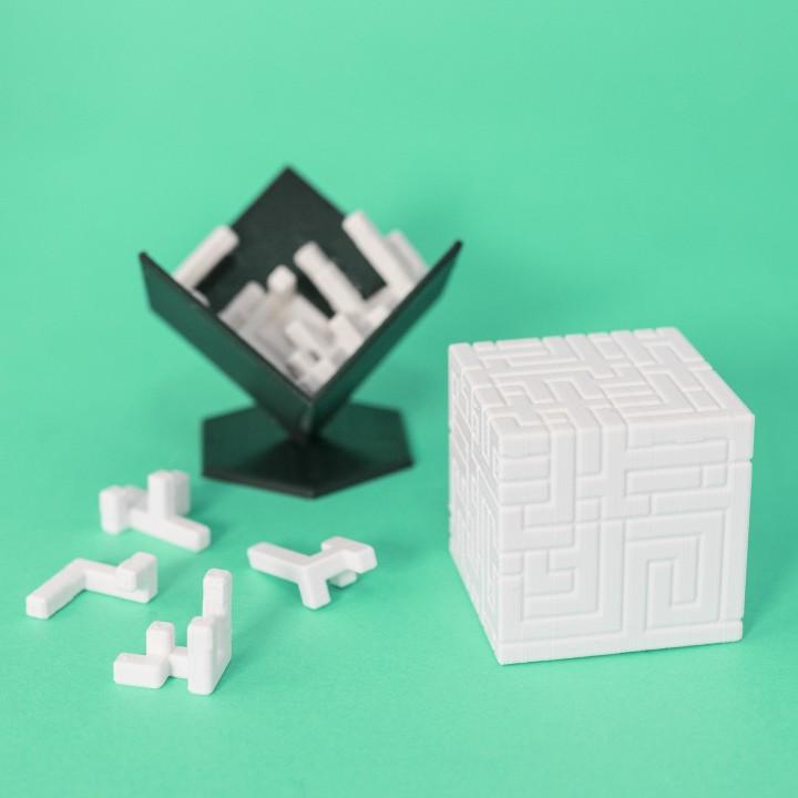 S U P E R C U B E      10x10 Puzzle Cube