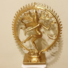 Picture of print of Shiva Nataraja This print has been uploaded by Rudy Hostens