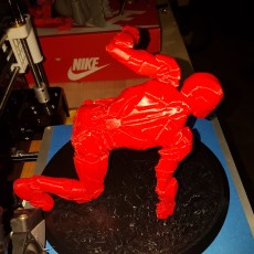 Picture of print of IRONMAN MK42 - Super Hero Landing Pose - 20 CM base This print has been uploaded by Keneda