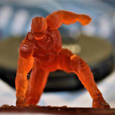Picture of print of IRONMAN MK42 - Super Hero Landing Pose - 20 CM base