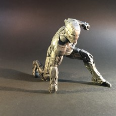 Picture of print of IRONMAN MK42 - Super Hero Landing Pose - 20 CM base This print has been uploaded by Fotis Mint