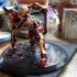 IRONMAN MK42 - Super Hero Landing Pose - 20 CM base print image