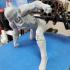 IRONMAN MK42 - Super Hero Landing Pose - 20 CM base print image