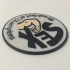 James Hunt 'Breakfast of Champions' Patch Coaster image