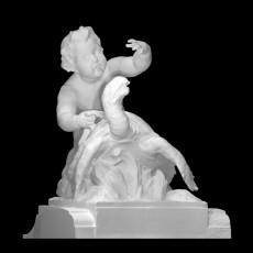 Cupid on the turtle