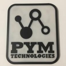 Ant Man Pym Technologies Logo Coaster
