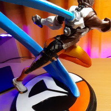 Picture of print of Overwatch - Tracer - Action Pose