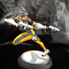 Picture of print of Overwatch - Tracer - Action Pose This print has been uploaded by Sean Brannin