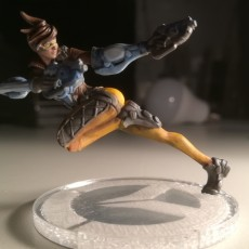 Picture of print of Overwatch - Tracer - Action Pose This print has been uploaded by Petri Hyvärinen