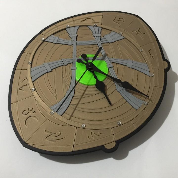 Dr Strange Eye of Agamotto Clock