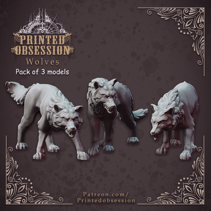 Wolf Pack - 32mm scale