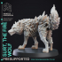 Fire Wolf - Monstrous Creature - DnD - 32mm scale image