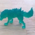Fire Wolf - Monstrous Creature - DnD - 32mm scale print image