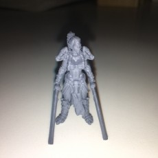 Picture of print of Female Orc Commander This print has been uploaded by Nick Williams