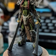 Picture of print of Female Orc Commander This print has been uploaded by tetuONE