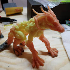 Picture of print of Wendi-go - Undead Monster - 32mm Scale - PRE-SUPPORTED