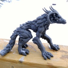 Picture of print of Wendi-go - Undead Monster - 32mm Scale