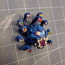 Picture of print of Beholder - DND Minature