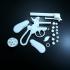Lefaucheux M1858 3rd Type 12mm 6Shoot (3D Print Kit Toy Gun) print image