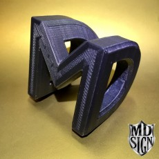 Picture of print of D ⇨ M // P.O.V. Illusion
