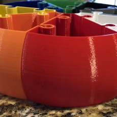 Picture of print of Pumpkin Jigsaw Vase