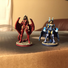 Picture of print of Succubus - Medium Fiend - PRESUPPORTED - 32mm Scale