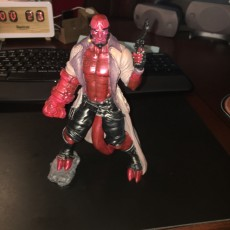 Picture of print of Hellboy - 30 CM model This print has been uploaded by luis monteiro