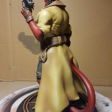 Picture of print of Hellboy - 30 CM model This print has been uploaded by Dmitry Seryogin