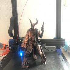 Picture of print of Hellboy - 30 CM model This print has been uploaded by Timo Hülsey
