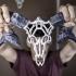 Wired Ram Skull image