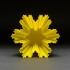 Fractal Snowflake Vase image