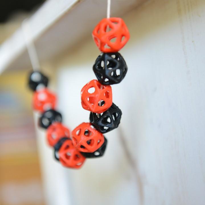 Icosahedron Beads