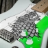 Game of Thrones House Stark Scratchplate for Fender Stratocaster image