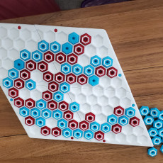 Picture of print of Hex / Con-Tac-Tix Game