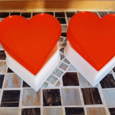Picture of print of Heart Keepsake Box