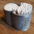 Container for cotton buds & pads image
