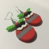 Kawaii Xmas Bauble Earrings image